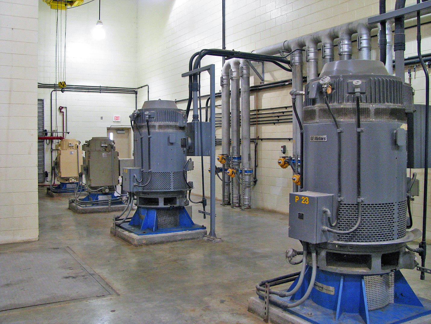 Virtual Tour Pump Station Wiring Raw Water From The Chesdin Reservoir Is Pumped Up To Treatment Plant Using
